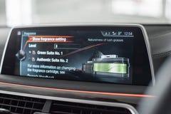 Αναψυκτικό αέρα που ενσωματώνεται στο αυτοκίνητο Στοκ φωτογραφία με δικαίωμα ελεύθερης χρήσης