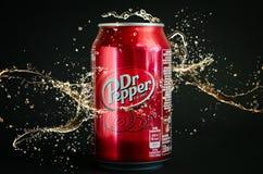 Αναψυκτικό κόλας του Δρ Pepper Στοκ φωτογραφία με δικαίωμα ελεύθερης χρήσης