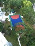 Αναψυχή στο κτήμα Σιγκαπούρη HDB Στοκ φωτογραφίες με δικαίωμα ελεύθερης χρήσης