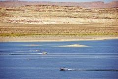 Αναψυχή Powell λιμνών Στοκ εικόνα με δικαίωμα ελεύθερης χρήσης