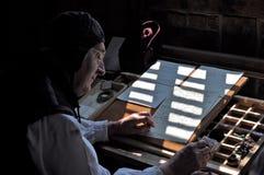 Αναψυχή 1538 Tudor αιθουσών Kentwell (2010) Στοκ εικόνες με δικαίωμα ελεύθερης χρήσης
