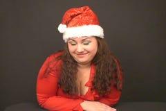 Αναλαμπή Santa απόθεμα βίντεο