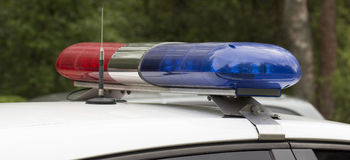 αναλαμπτήρας αστυνομίας Στοκ Εικόνες