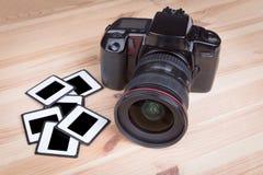 Αναλογική φωτογραφική μηχανή SLR Στοκ Φωτογραφία
