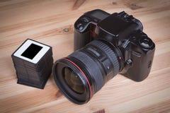 Αναλογική φωτογραφική μηχανή SLR Στοκ Εικόνες