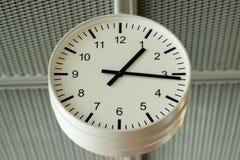 Αναλογικό ρολόι αερολιμένων Στοκ Φωτογραφία