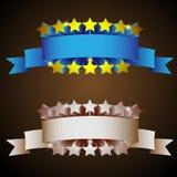 αναδρομικά αστέρια Abel Στοκ Εικόνα