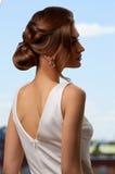 Αναδρομικά κύματα hairstyle Στοκ εικόνες με δικαίωμα ελεύθερης χρήσης