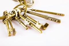 Αναδρομικά κλειδιά Στοκ Εικόνα