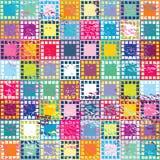 αναδρομικά τετράγωνα ανα&si Στοκ φωτογραφίες με δικαίωμα ελεύθερης χρήσης