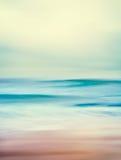 Αναδρομικά ωκεάνια κύματα Στοκ Φωτογραφία