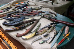 Αναδρομικά όπλα Στοκ εικόνα με δικαίωμα ελεύθερης χρήσης