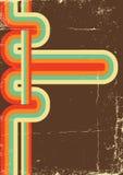 Αναδρομική αφίσα. Διανυσματικό υπόβαθρο χρώματος Στοκ φωτογραφία με δικαίωμα ελεύθερης χρήσης