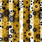 Αναδρομική κάθετη γεωμετρική floral πλάτη σύστασης σχεδίων προσθηκών Στοκ φωτογραφία με δικαίωμα ελεύθερης χρήσης