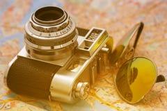 Αναδρομική κάμερα Στοκ φωτογραφίες με δικαίωμα ελεύθερης χρήσης