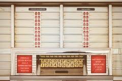 Αναδρομική ορισμένη εικόνα ενός παλαιού jukebox Στοκ Εικόνα