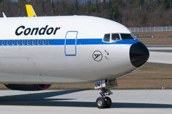 Αναδρομική στολή του Boeing 767-300 κονδόρων (ER) Στοκ Εικόνες