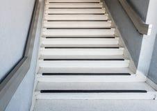 Αναδρομική συγκεκριμένη σκάλα ύφους Στοκ εικόνες με δικαίωμα ελεύθερης χρήσης
