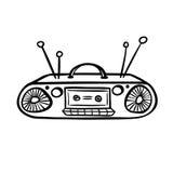 Αναδρομική συσκευή - παλαιό όργανο καταγραφής ταινιών Στοκ φωτογραφία με δικαίωμα ελεύθερης χρήσης