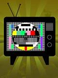 αναδρομική τηλεόραση Στοκ Εικόνες
