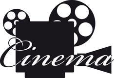 Αναδρομική φωτογραφική μηχανή κινηματογράφων. Στοκ Εικόνα