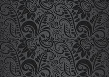 Αναδρομική floral ταπετσαρία. Άνευ ραφής Στοκ φωτογραφία με δικαίωμα ελεύθερης χρήσης