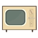 Αναδρομική TV αντικειμένου Στοκ φωτογραφία με δικαίωμα ελεύθερης χρήσης