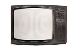 αναδρομική TV Στοκ Εικόνες