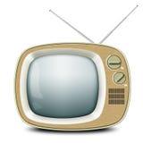 Αναδρομική TV Στοκ Εικόνα