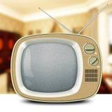 Αναδρομική TV Στοκ Φωτογραφία