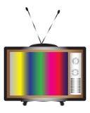 αναδρομική TV Στοκ φωτογραφία με δικαίωμα ελεύθερης χρήσης