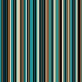 Αναδρομικός άνευ ραφής, σχέδιο με τα λωρίδες χρώματος απεικόνιση αποθεμάτων