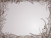 Αναδρομικός-ορισμένο shabby floral υπόβαθρο grunge Στοκ φωτογραφία με δικαίωμα ελεύθερης χρήσης