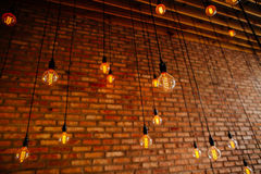Αναδρομικός τρύγος ινών λαμπών φωτός Στοκ εικόνα με δικαίωμα ελεύθερης χρήσης