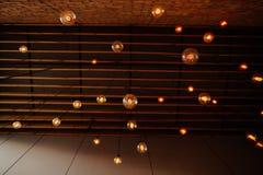 Αναδρομικός τρύγος ινών λαμπών φωτός Στοκ Εικόνες