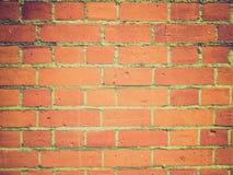 Αναδρομικός φανείτε κόκκινα τούβλα Στοκ Εικόνες