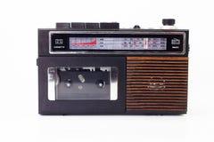 Αναδρομικός φορέας ραδιοφώνων και κασετών Στοκ εικόνες με δικαίωμα ελεύθερης χρήσης