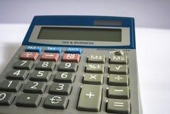 Αναδρομικός φορολογικός υπολογιστής Στοκ φωτογραφίες με δικαίωμα ελεύθερης χρήσης