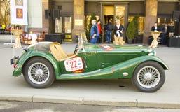 Αναδρομικό δαιμόνιο του Riley αυτοκινήτων Στοκ φωτογραφίες με δικαίωμα ελεύθερης χρήσης