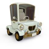 Αναδρομικό αυτοκίνητο κινούμενων σχεδίων Στοκ Εικόνα