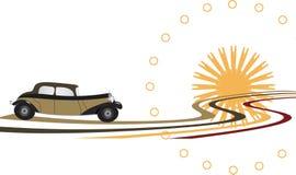 Αναδρομικό αυτοκίνητο Στοκ εικόνα με δικαίωμα ελεύθερης χρήσης