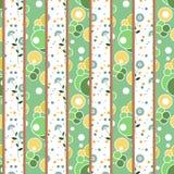 Αναδρομικό γεωμετρικό floral υπόβαθρο σύστασης σχεδίων προσθηκών Στοκ Εικόνες