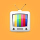 Αναδρομικό εικονίδιο TV Στοκ εικόνα με δικαίωμα ελεύθερης χρήσης