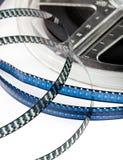 Αναδρομικό εξέλικτρο ταινιών Στοκ φωτογραφίες με δικαίωμα ελεύθερης χρήσης