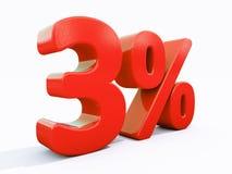 Αναδρομικό κόκκινο σημάδι τοις εκατό Στοκ Εικόνες