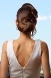 Αναδρομικό κλασικό hairstyle κυμάτων Στοκ Φωτογραφίες