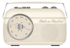 Αναδρομικό μονο ραδιόφωνο Στοκ Εικόνες