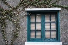 αναδρομικό παράθυρο Στοκ εικόνα με δικαίωμα ελεύθερης χρήσης