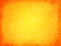 Αναδρομικό πορτοκάλι σύστασης grunge με τα σύνορα Στοκ Εικόνες