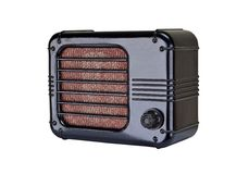 Αναδρομικό ραδιόφωνο Στοκ εικόνα με δικαίωμα ελεύθερης χρήσης